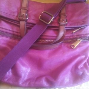 Gently used fossil explorer bag